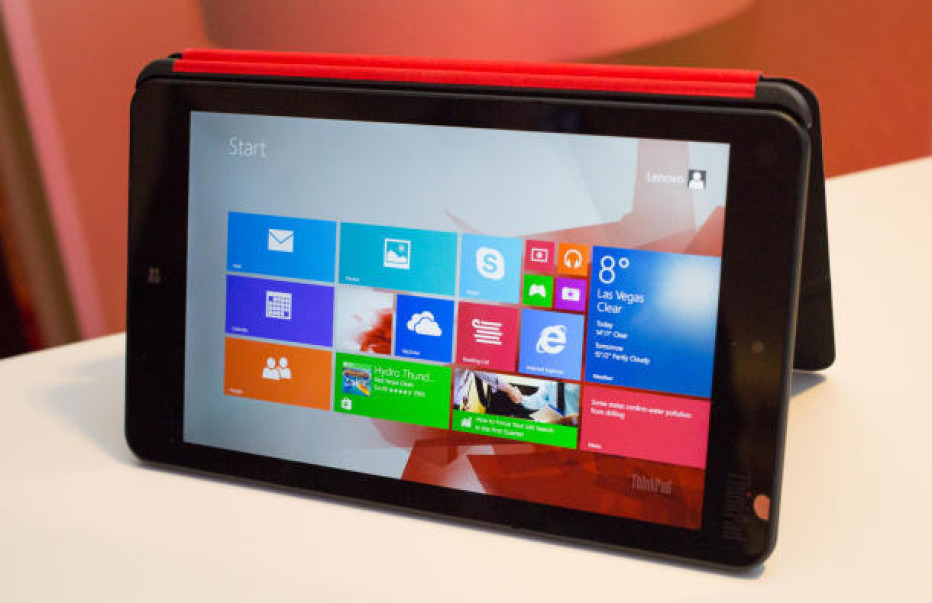 Lenovo ends sales of 8-inch Windows tablets in North America