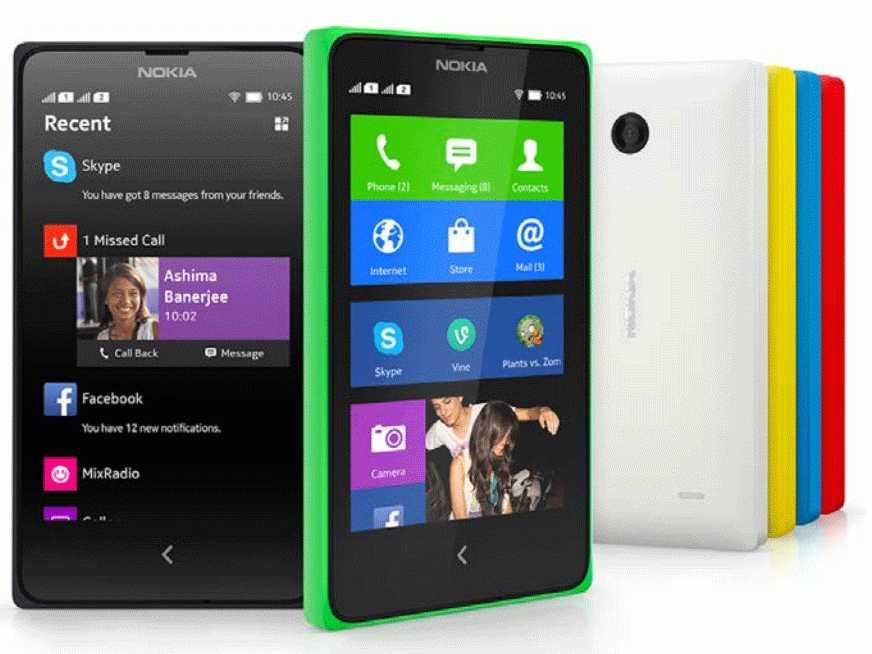 Nokia X smartphones