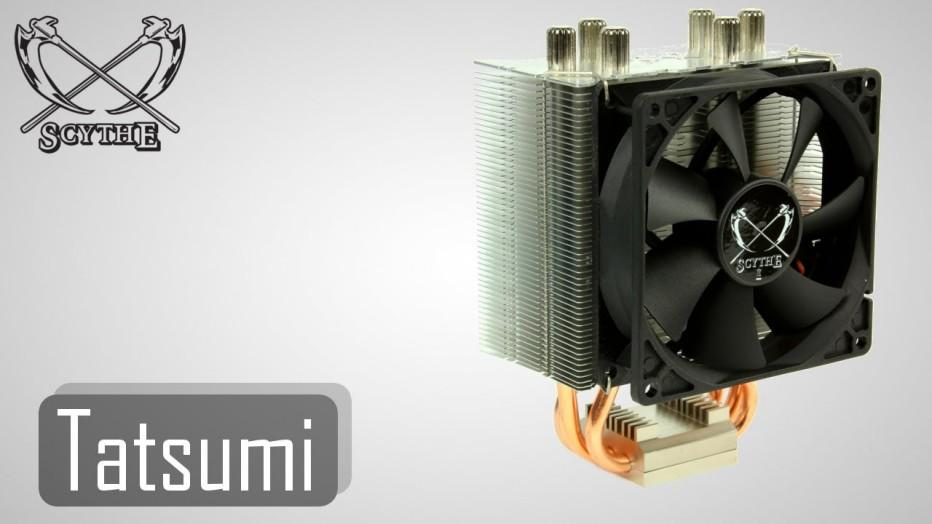 Scythe presents Tatsumi CPU cooler