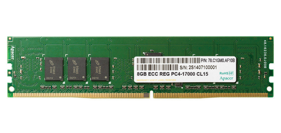 Apacer debuts DDR4 memory at 2133 MHz