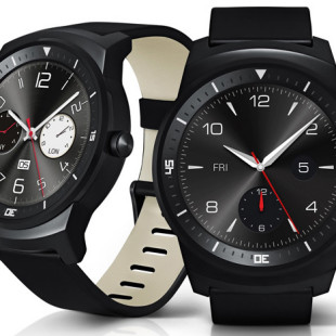 LG presents G Watch R smartwatch