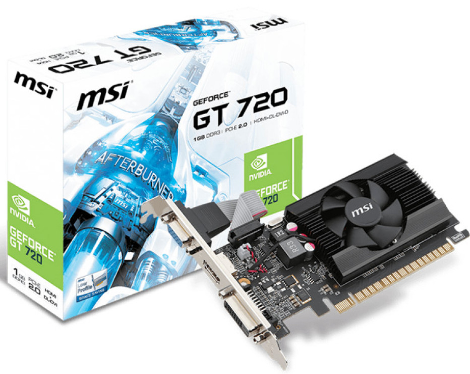NVIDIA presents GeForce GT 720 graphics solution