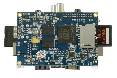 Foxconn presents Banana Pi platform