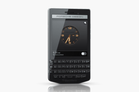 BlackBerry debuts Porsche Design P'9983