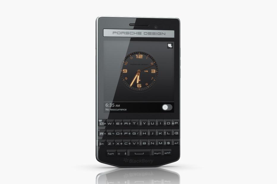 BlackBerry debuts Porsche Design P'9983