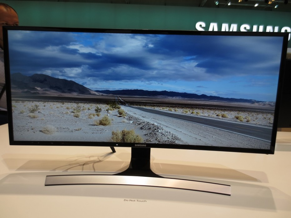 Samsung announces another curved monitor