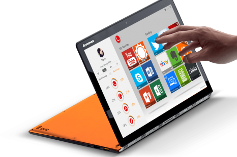 Lenovo presents Yoga 3 Pro ultrabook