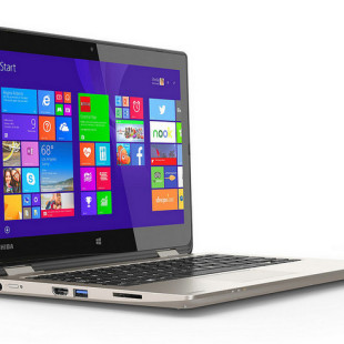 Toshiba presents the Satellite Radius convertible PC