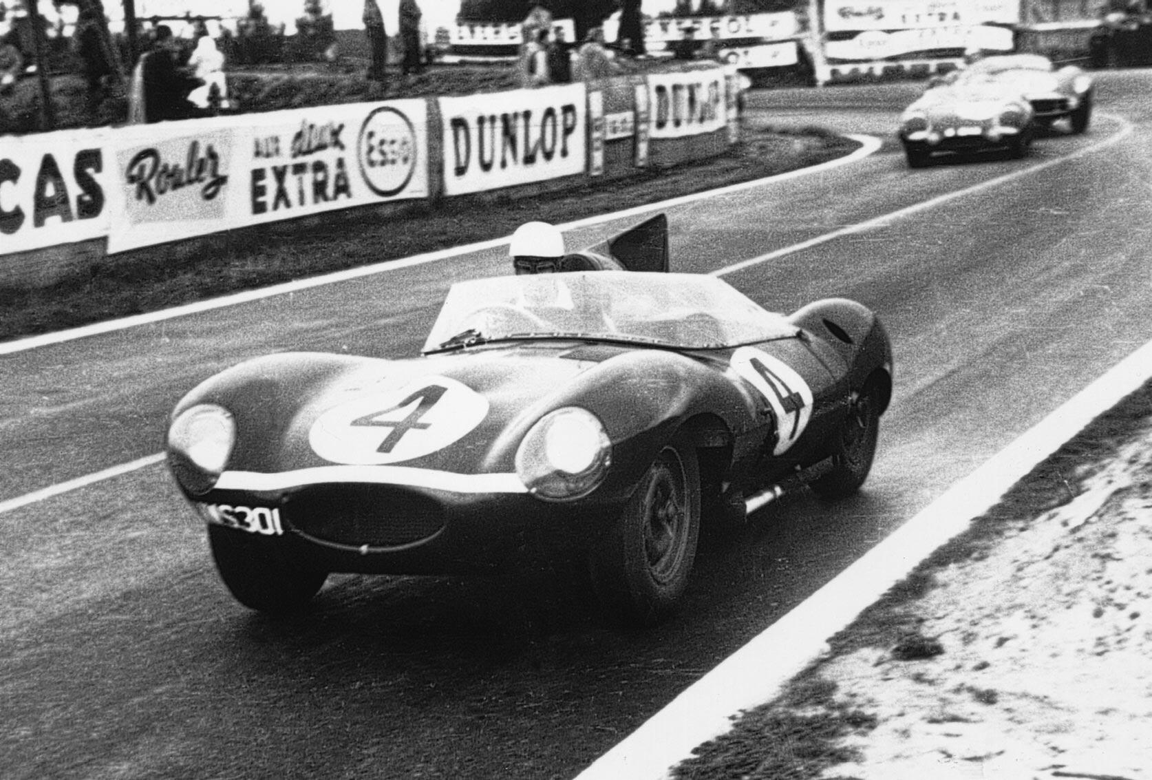 jaguar le mans 1956