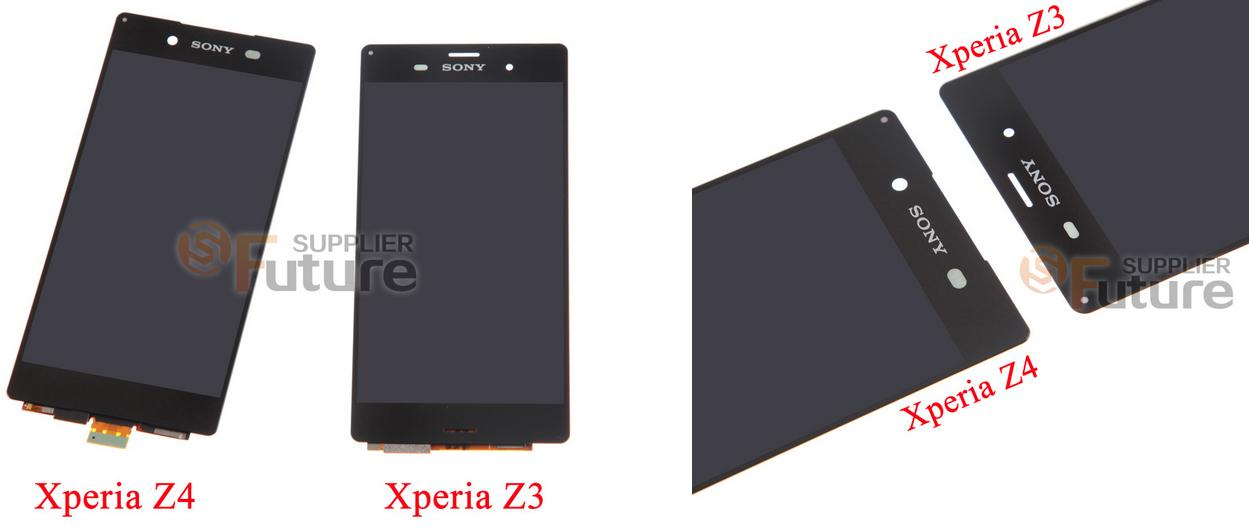 Xperia Z4 display