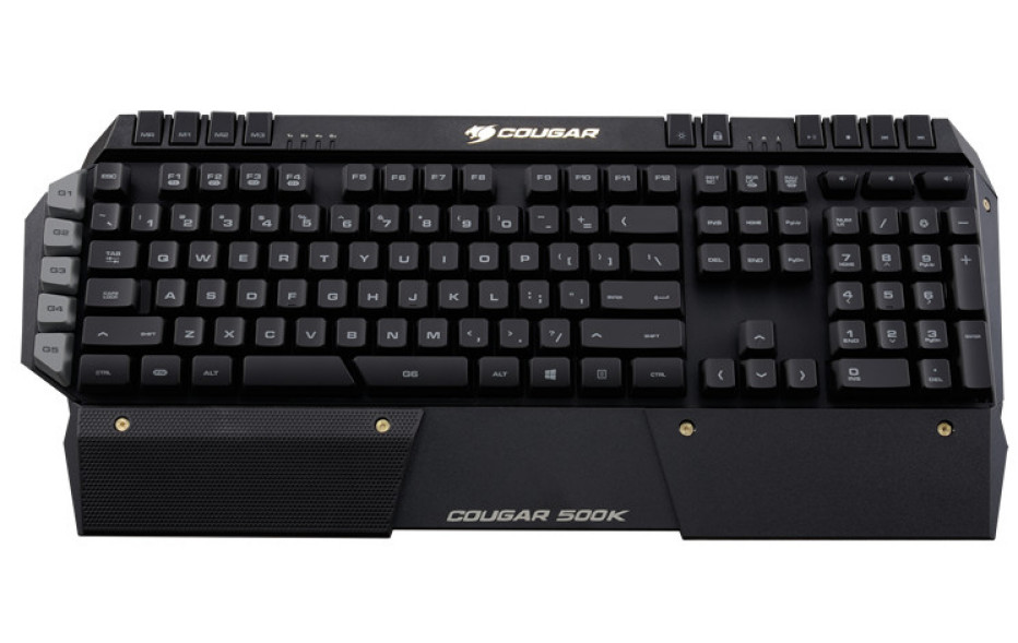 Cougar releases the 500K gaming keyboard
