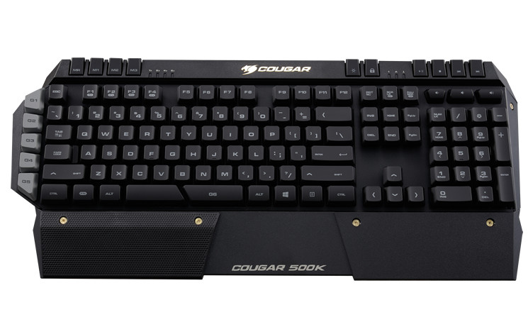 Cougar 500K keyboard