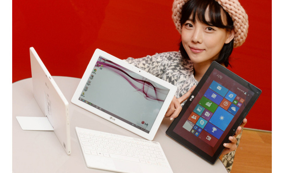 LG presents hybrid Tab Book Duo tablet