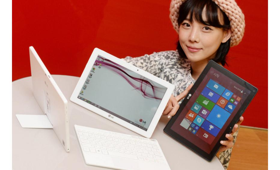 LG presents hybrid Tab Book Duo tablet