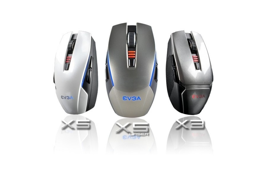 EVGA releases Torq X3 and Torq X5 gaming mice