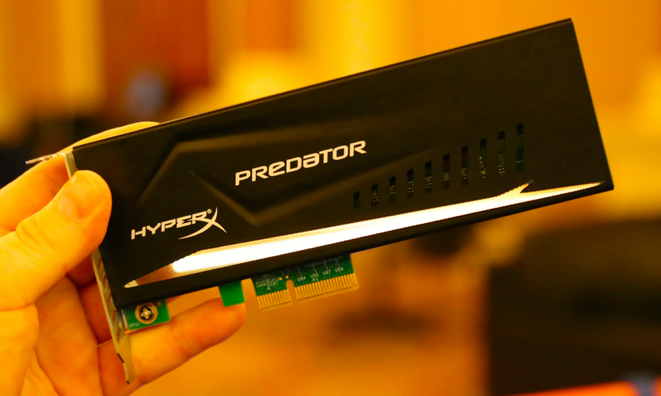 Kingston now offers high speed PCIe SSD