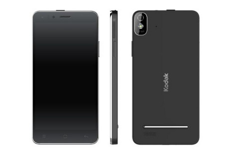 Kodak presents first smartphone