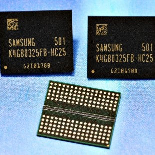 Samsung mass produces first 8 Gb GDDR5 memory