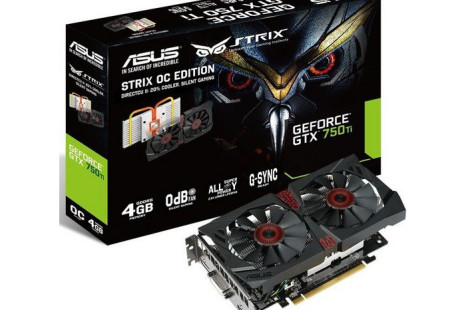 ASUS ups GeForce GTX 750 Ti memory to 4 GB