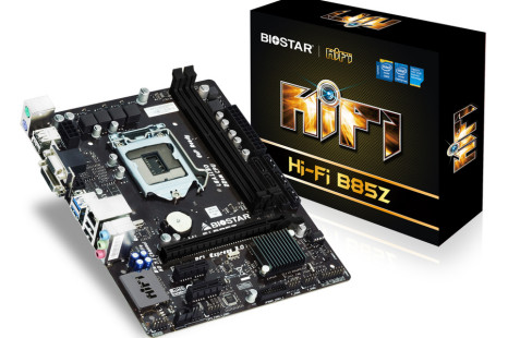 Biostar offers new motherboard for audio fans
