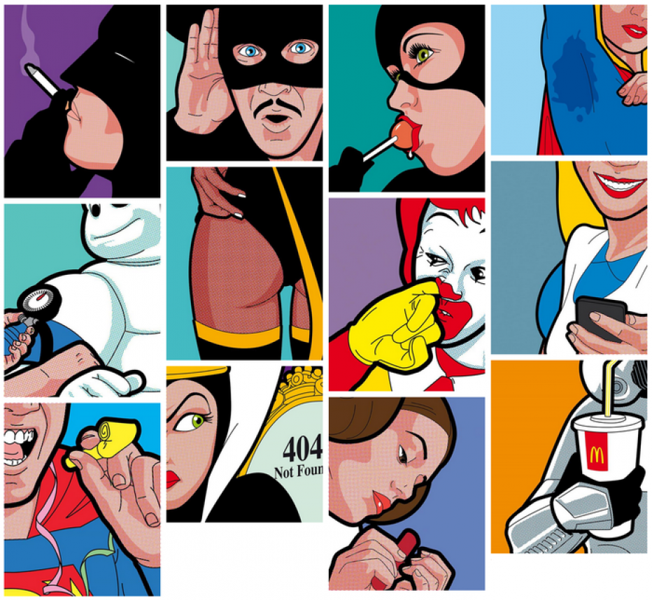 Superheroes come back as ordinary people in new funny book