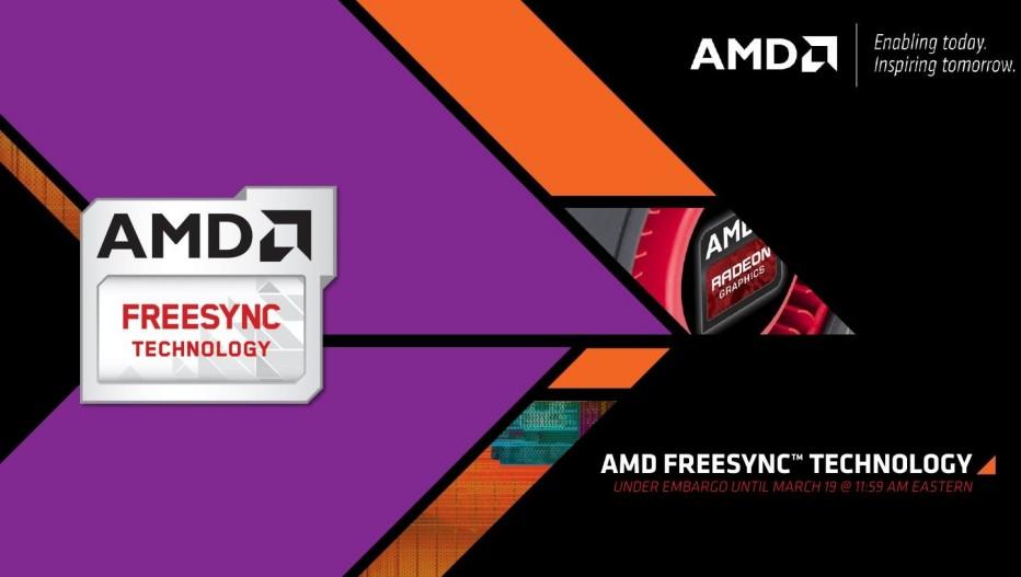 AMD announces FreeSync technology