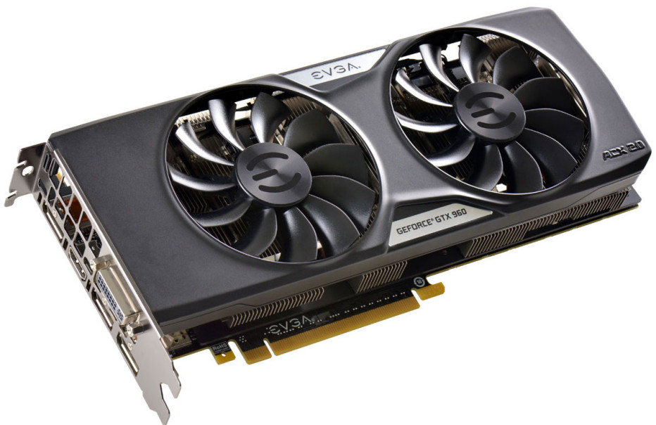 EVGA also releases GTX 960 cards with 4 GB VRAM