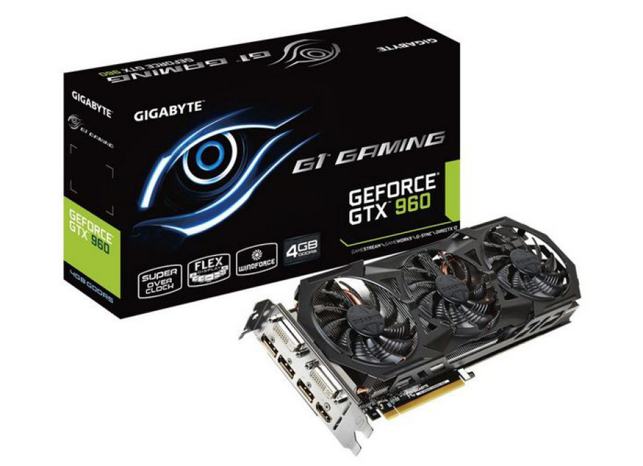 Gigabyte releases GTX 960 cards with more memory