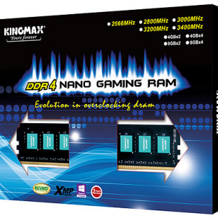 Kingmax offers DDR4 memory with nano coating