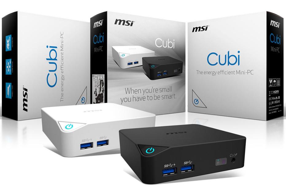 MSI announces Cubi mini PC