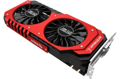 Palit debuts GeForce GTX 960 JetStream video card