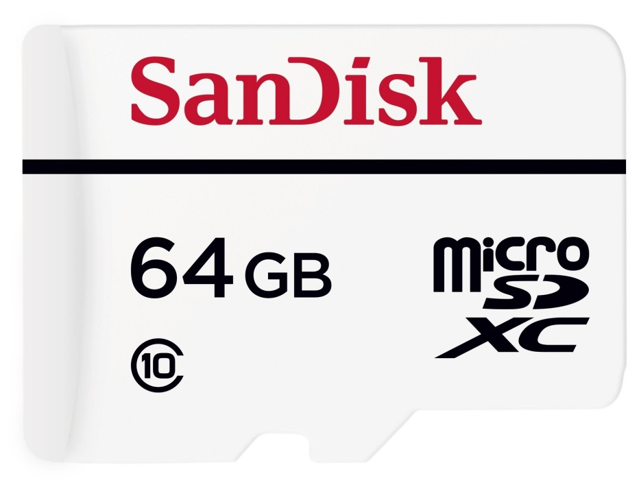 SanDisk presents first memory card line for dashcams