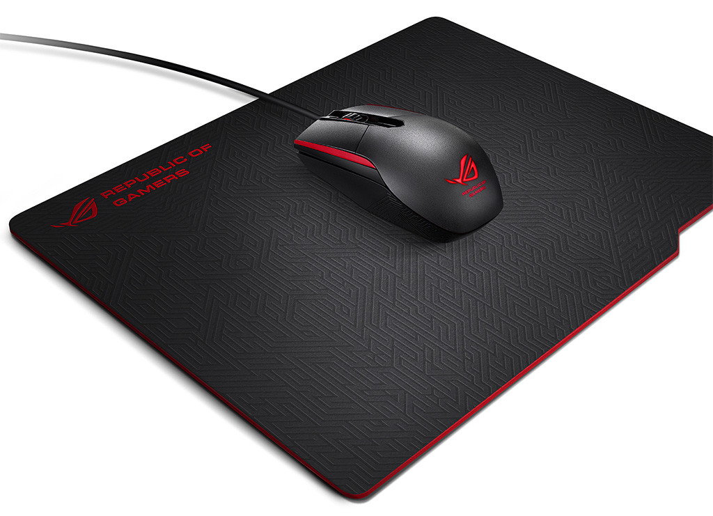 ASUS mouse and pad