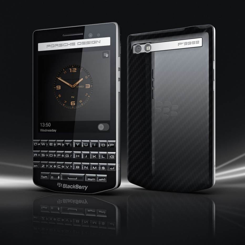 BlackBerry works on new high-end smartphone