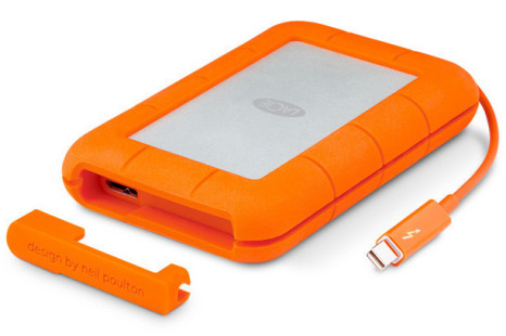 LaCie launches new rugged Thunderbolt SSD