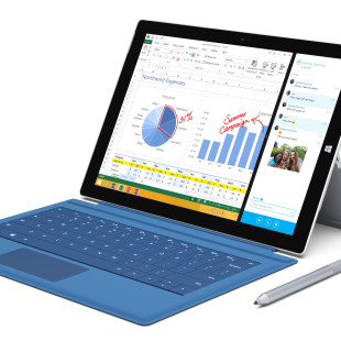 Microsoft presents Surface 3 tablet computer