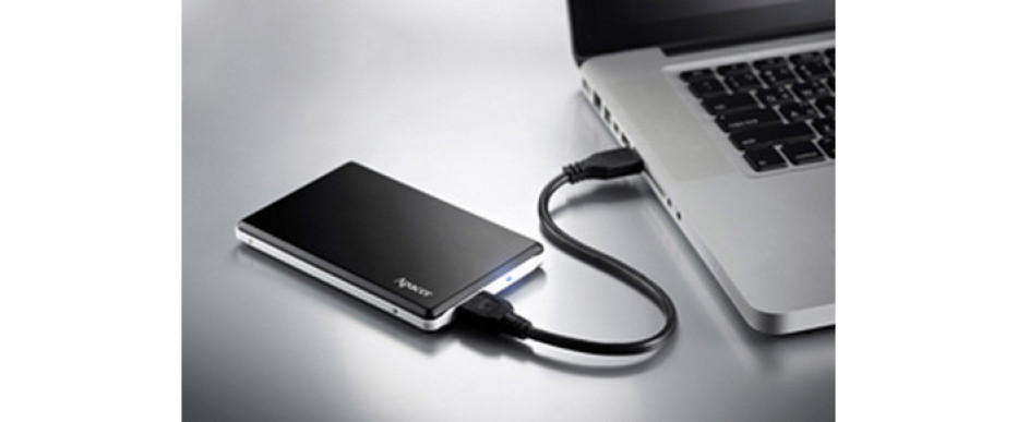 Apacer presents the AC330 external hard drive