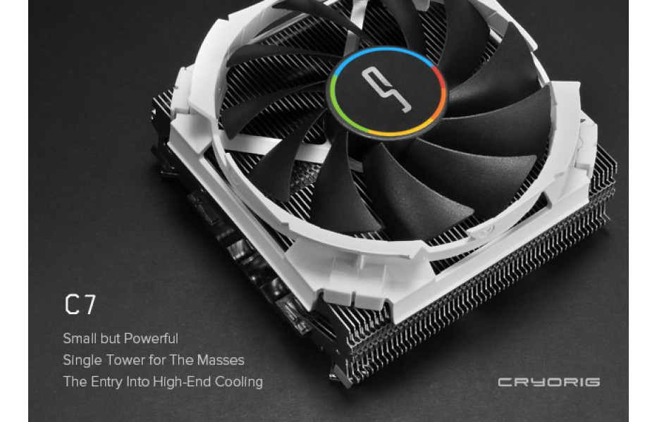 Cryorig releases the C7 CPU cooler