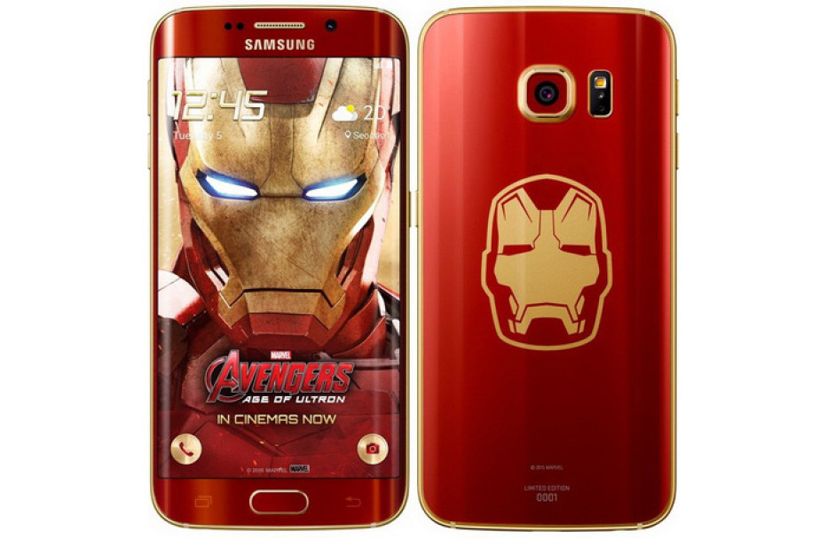 Samsung releases Galaxy S6 Edge Iron Man Edition