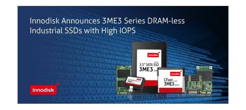 Innodisk introduces DRAM-less SSDs