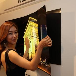 LG presents ultra thin display
