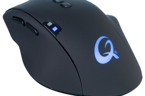 QPAD debuts 8K optical mouse