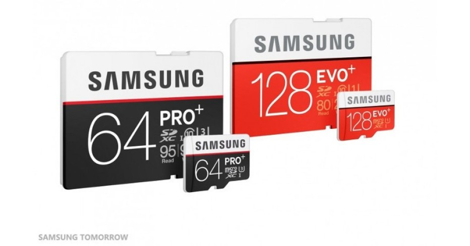 Samsung presents new SD and microSD cards