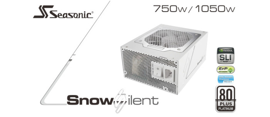 Seasonic expands its Snow Silent PSU line