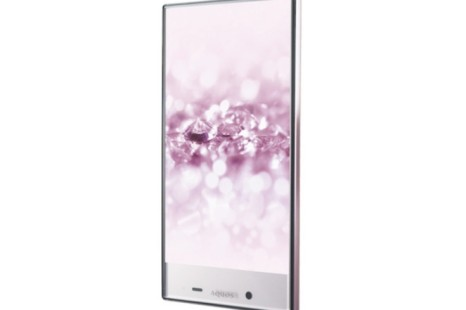 Sharp presents Aquos Crystal 2 bezel-less smartphone