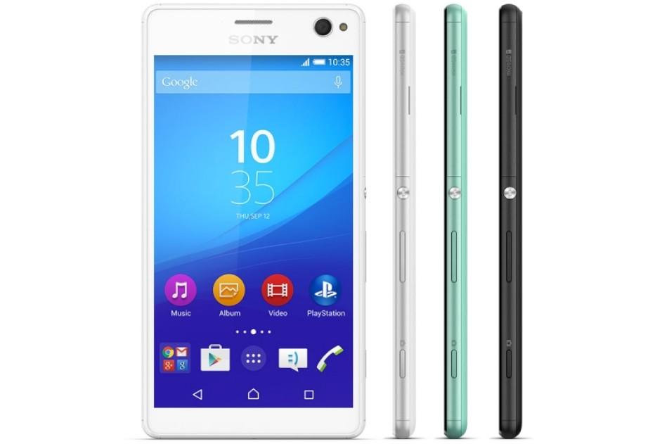 Sony announces Xperia C4 selfie smartphone