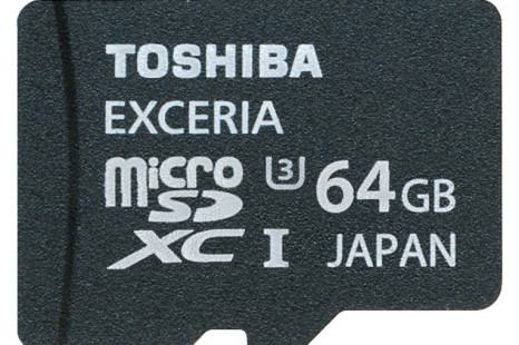 Toshiba updates its EXCERIA line of memory cards