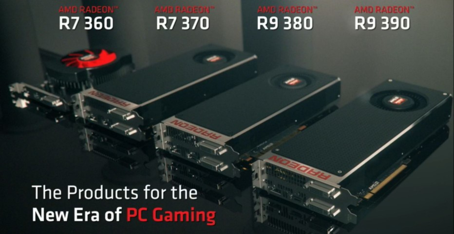 AMD announces the Radeon 300 line of graphics cards