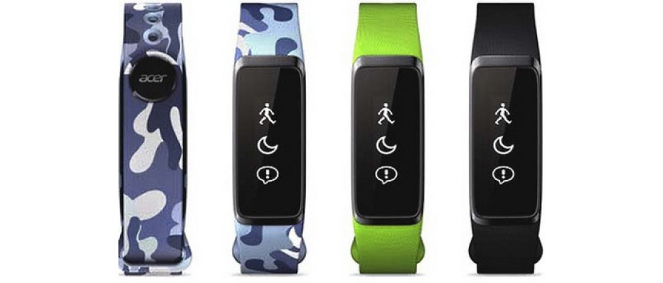Acer presents three new fitness bracelets