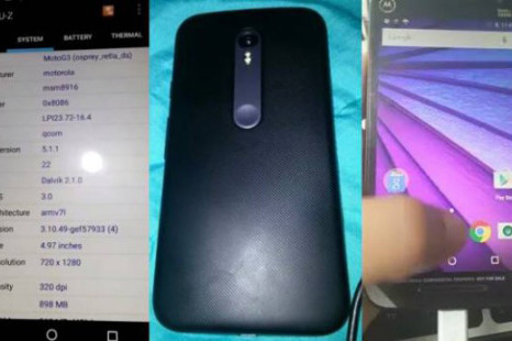 Motorola to launch 3rd generation Moto G soon